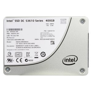 Intel SSD DC S3610 Series 400GB, 2.5in SATA 6Gb/s, 20nm, MLC,SSDSC2BX400G401