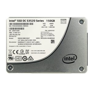 Intel  SSD DC S3320 Series 150GB, 2.5in SATA 6Gb/s, 3D1, MLC
