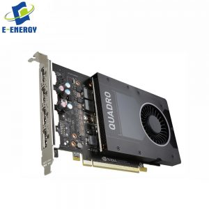 NVIDIA Quadro P2200 5G, PCI Express 3.0 X16, GDDR5x, 160Bit, Graphics Processing Unit