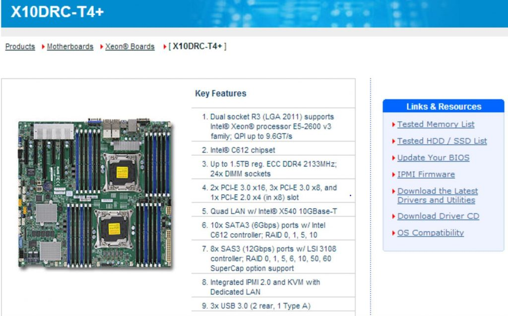 Supermicro X10 Xeon E5-2600 V3 Haswell-EP Motherboards Online