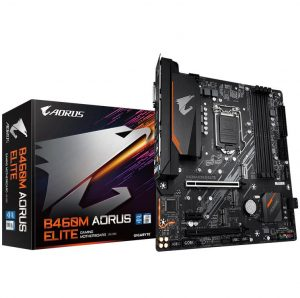 GIGABYTE B460M AORUS ELITE Gaming Motherboard with Intel 10th Core CPU I5 10400 10400F 10500 I7 10700 Processors