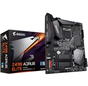 GIGABYTE Z490 AORUS ELITE Gaming Motherboard with Intel Z490 Chipset LGA1200 Socket Support 10th I9 I7 Generation Intel Core CPU