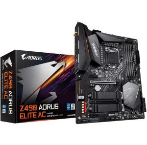 GIGABYTE Z490 AORUS ELITE AC Gaming Motherboard with WI-FI Intel Z490 Chipset LGA1200 Socket Support Intel 10th Core CPU