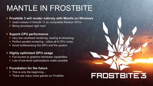 Battlefield 4 and Frostbite 3 Will Support Both AMD Mantle and NVIDIA NVAPI APIs For PC Optimizations