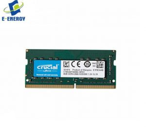 Crucial CT8G4SFS8266 8GB 260-Pin DDR4 SODIMM 2666Mbps PC4 21300 Notebook Memory